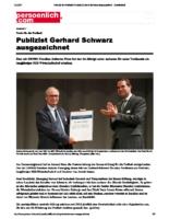 Gerhard Schweiz Preis Auszeichnung