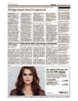 Basler Zeitung Gerhard Schwarz erhält Bonny Preiis