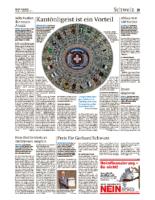 Zürcher Unterländer Preis für Gerhard Schwarz