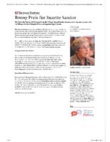 Artikel Berner Zeitung vom 2.9.2016